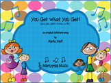 You Get What You Get/Children's Song/Novelty/Classroom Management