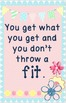 You Get What You Get Poster