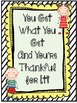 You Get What You Get & You're Thankful For It!
