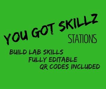 You Got Skillz Lab Stations