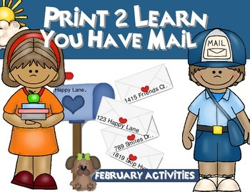 You Have Mail {Printables Activity}
