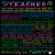 You Know You're a Teacher... FREE Posters in color & blackline