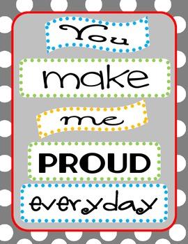 You Make Me Proud Sign