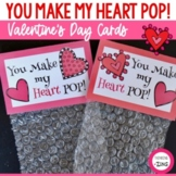 You Make My Heart Pop Valentine's Day Card Activity