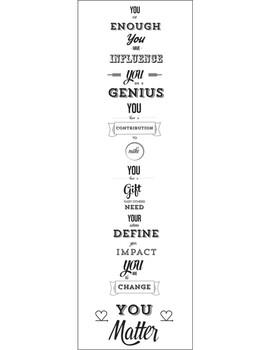 You Matter Manifesto- b/w