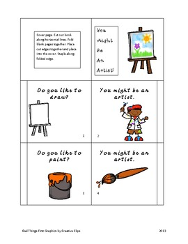 You Might be an Artist!