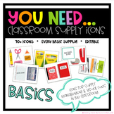 You Need Classroom Supply Icon BASICS