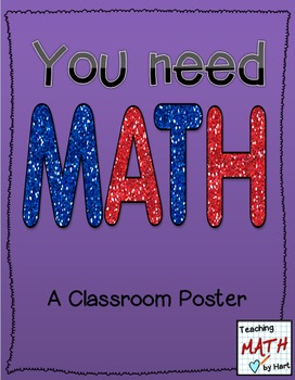 You Need MATH - Poster