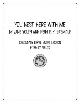 You Nest Here with Me Music Lesson