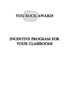 """You Rock!"" Award Program"