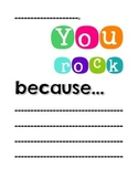 You Rock - Classroom Poster