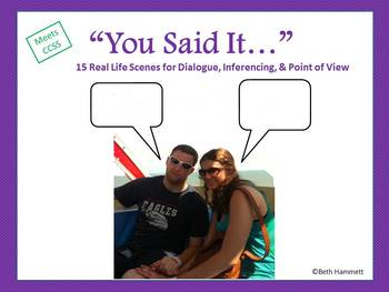You Said It: Dialogue, Inferencing, and Point of View