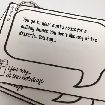 You Say...at the Holidays FREEBIE