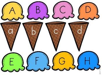 Ice Cream Activities for Pre-K and Kindergarten