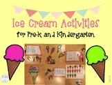 Ice Cream Activities for Pre-K and Kindergarten