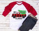 You Serious Clark? Buffalo plaid with Flap Lumberjack Christmas Holiday 1102S