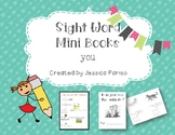 You Sight Word Mini Book