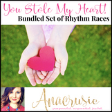You Stole My Heart! Bundled Rhythm Races