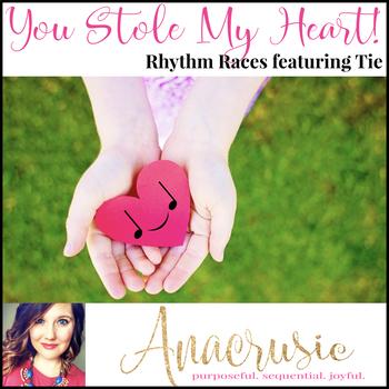 You Stole My Heart! - tie Rhythm Races