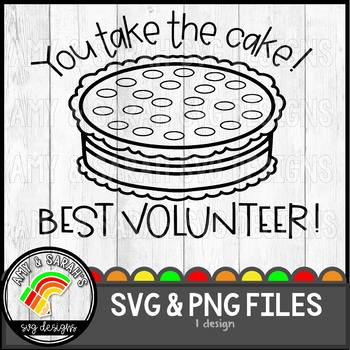 You Take The Cake SVG Design