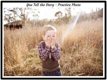 You Tell the Story Set 4:  A Creative Writing Station