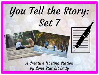 You Tell the Story Set 7:  A Creative Writing Station