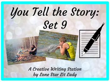 You Tell the Story Set 9:  A Creative Writing Station