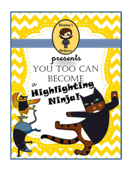 Become a Highlighting Ninja Non-Fiction Reading Comprehens