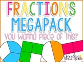 You Want A Piece of This? FRACTIONS MEGAPACK! {Common Core Aligned}