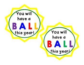 You Will Have A Ball This Year