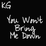 You Won't Bring Me Down Font: Personal Use