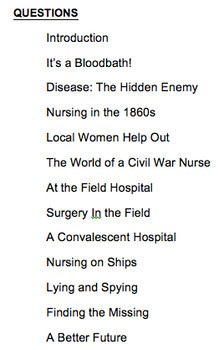 You Wouldn't Want to A Nurse During the American Civil War! Informational Text