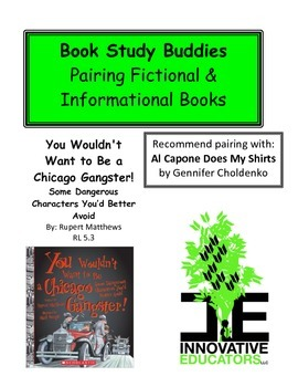 You Wouldn't Want to Be a Chicago Gangster - Fiction and Informational Books