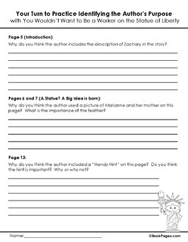 You Wouldn't Want to Be a Worker Lesson Plans & Activities Package (CCSS)