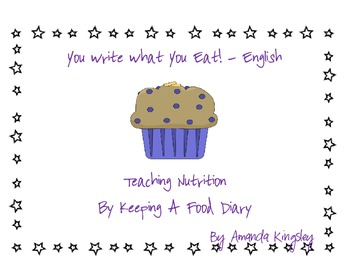 You Write What You Eat