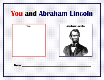 You and Abraham Lincoln
