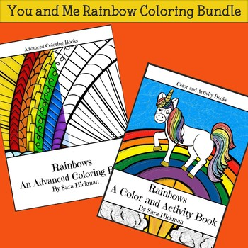 You and Me Coloring Bundle