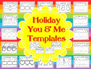 You and Me Holiday Templates