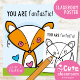 You are Fantastic - Cute Classroom Poster