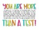 You are More than A Test State Testing Motivation FREEBIE