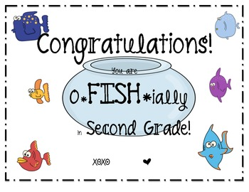 You are O-FISH-ially in....