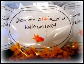 You are O'Fishally a kindergartener- fifth grader