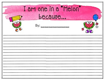 """You are One in a """"Melon"""""""