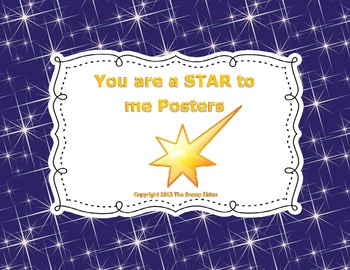 You are a STAR to me!