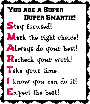 You are a Super Duper Smartie!