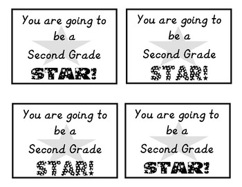 You are going to be a STAR! tag