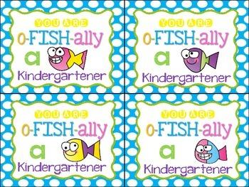 You are o-FISH-ally a ___________ grader