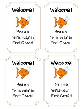 "You are ""o-fish-ally"" in snack bag tag!"