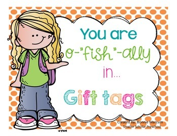 You are o-fish-ally in... tags