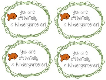 """You are o""""fish""""ally a {pre-k, kindergarten, 1st, 2nd, 3rd}"""